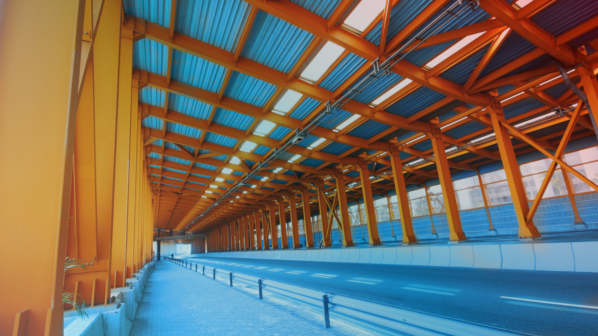 Bridges and industrial coatings