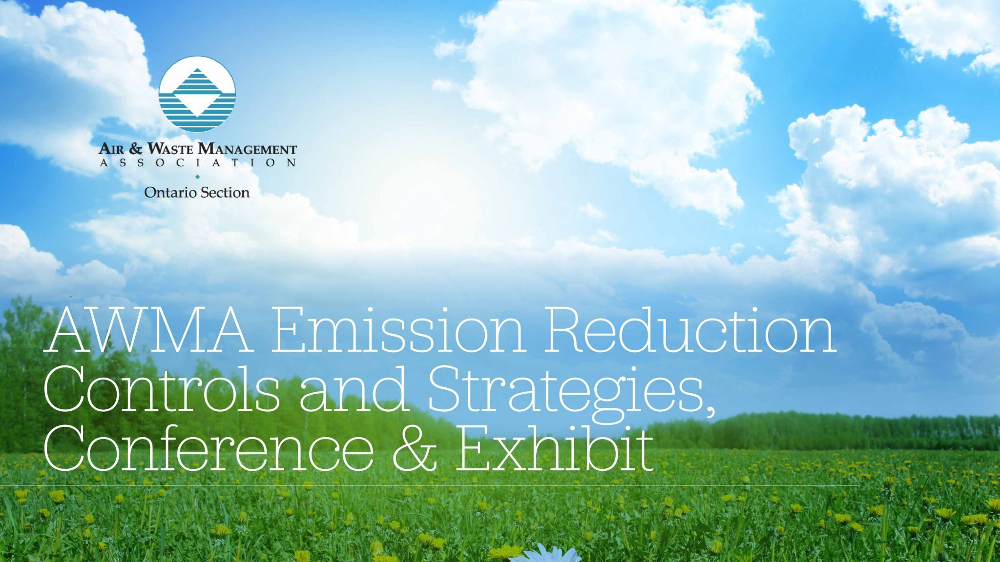 AWMA Emission Reduction Controls and Strategies, Conference & Exhibit