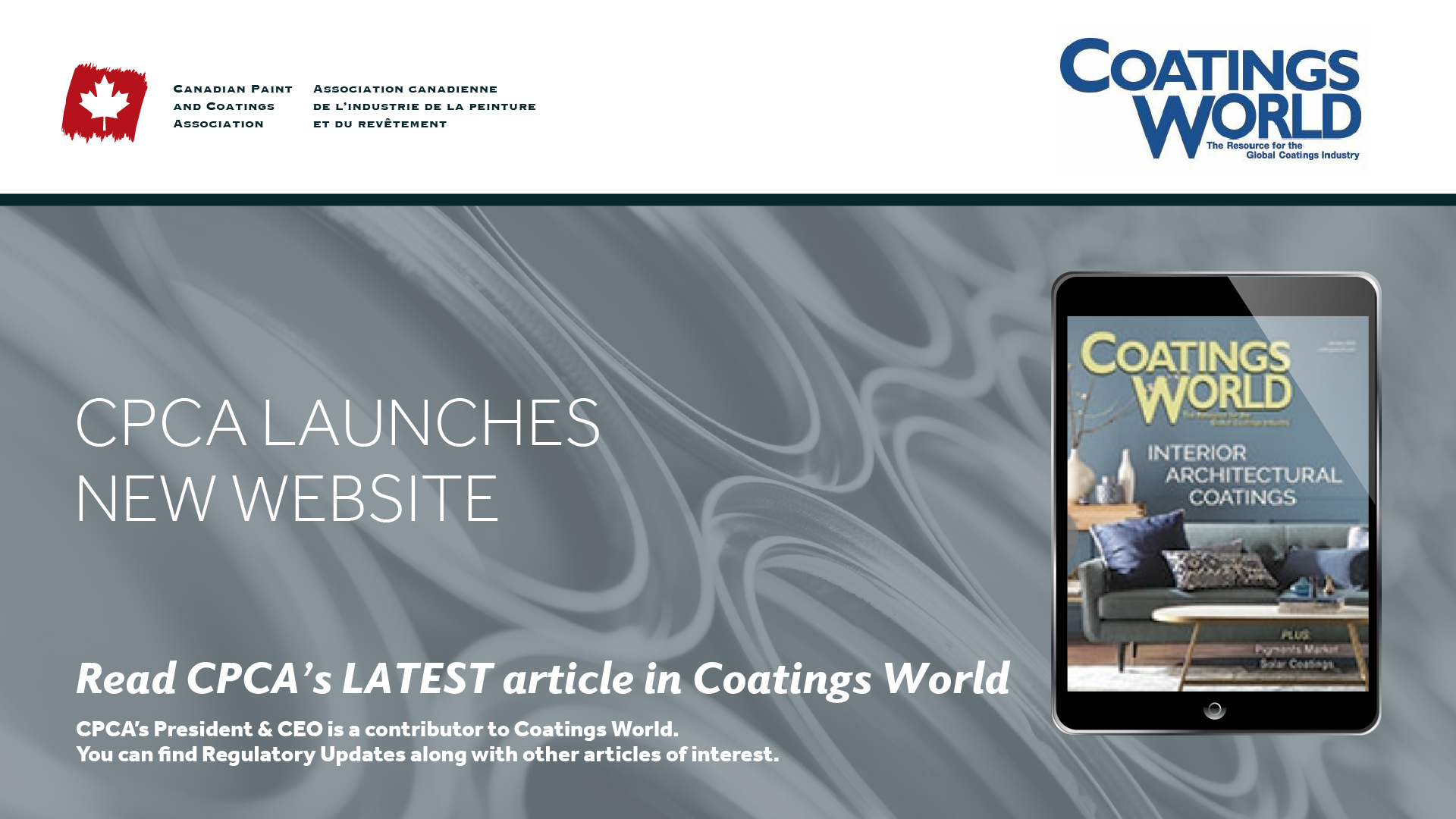 CPCA Launches New Website