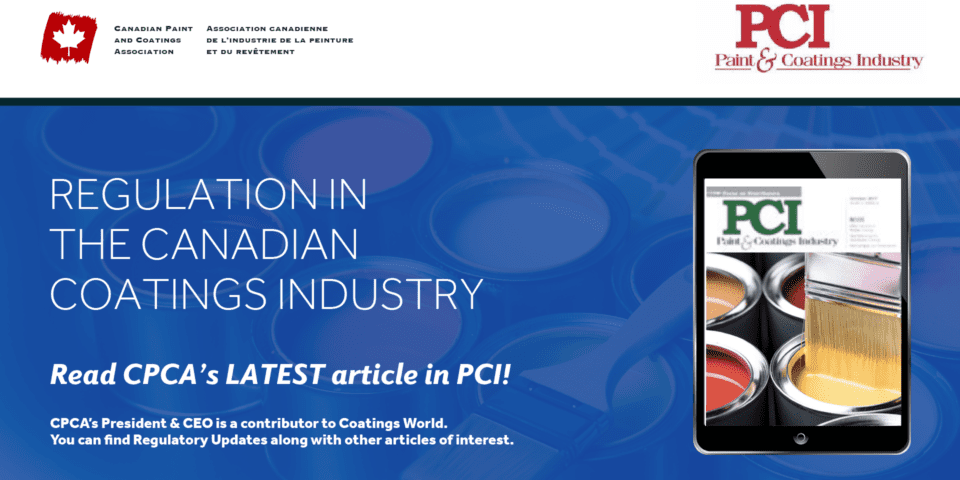 Regulation in the Canadian Coatings Industry