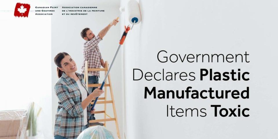 GovernmentDeclares PlasticManufacturedItems Toxic