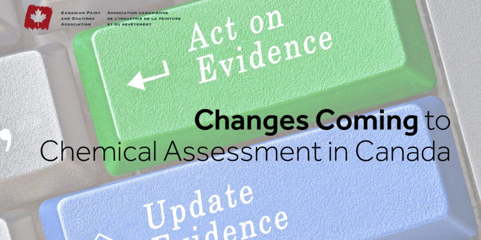 Changes Coming to Chemical Assessment in Canada